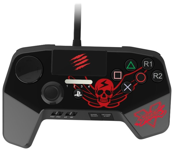 Mad Catz Геймпад Mad Catz Street Fighter FightPad PRO for PS 4/3 BISON