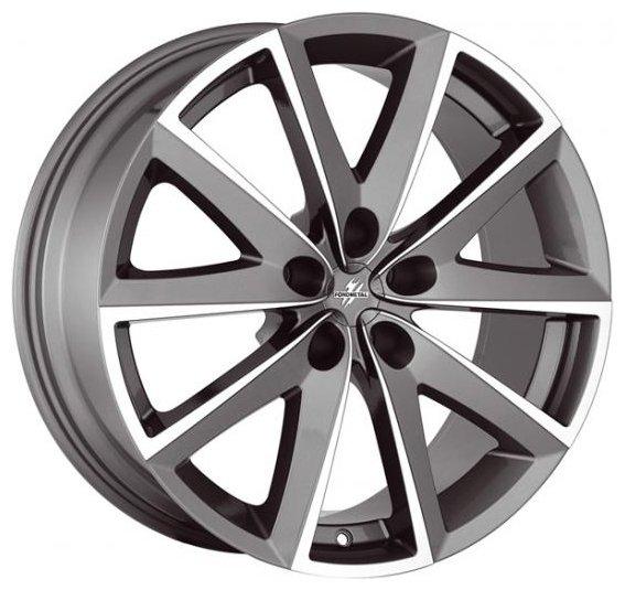 Диск колесный Fondmetal 7600 7x16/5x114.3 D66.1 ET35 Titanium polished