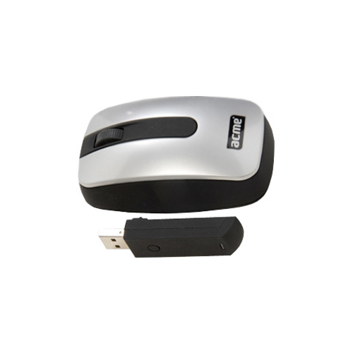 Мышь ACME Wireless Mouse COT2 Silver-Black USB