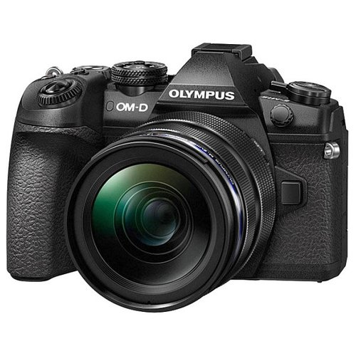 Фотоаппарат Olympus OM-D E-M1 Mark II Kit черный M.Zuiko Digital ED 12‑40mm 1:2.8 PRO подводный бокс olympus pt ep11 для om d e m1 v6300600e000