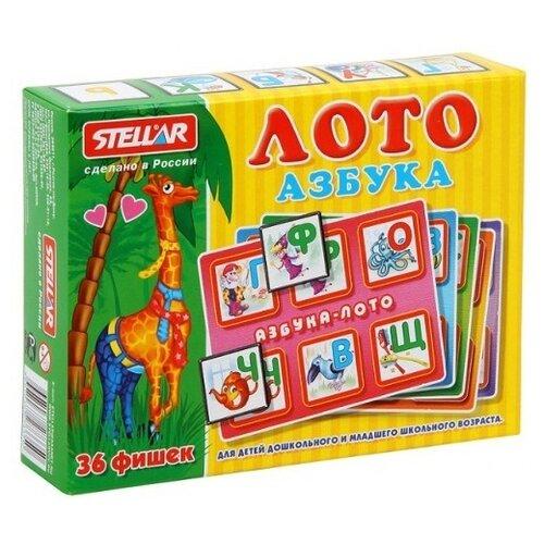 Купить Настольная игра Стеллар Азбука 00908, Настольные игры