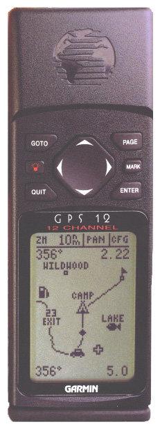 Навигатор Garmin GPS 12