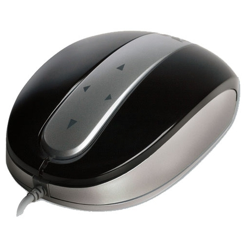 Мышь Modecom MC-802 4-Directional Optical Mouse with TouchPad Black-Silver USB