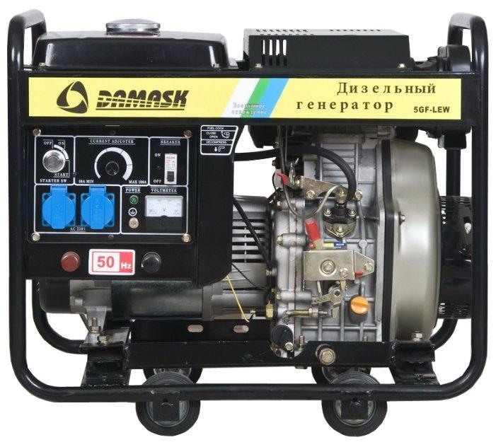 Дизельный генератор Damask 5GF-LEW (4200 Вт)