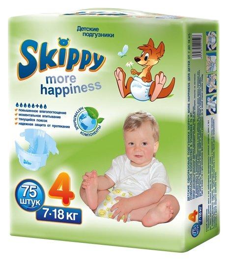 Skippy подгузники 4 (7-18 кг)