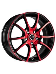 Racing Wheels H-470 6.5x15 5x112 ET 40 Dia 57.1 BK-ORD F/P - фото 1