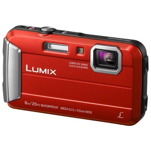 цена на Фотоаппарат Panasonic Lumix DMC-FT30 красный
