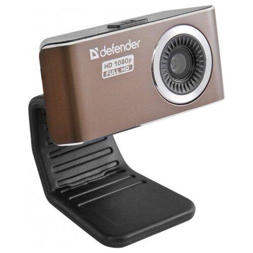 Веб-камера Defender G-lens 2693 коричневый