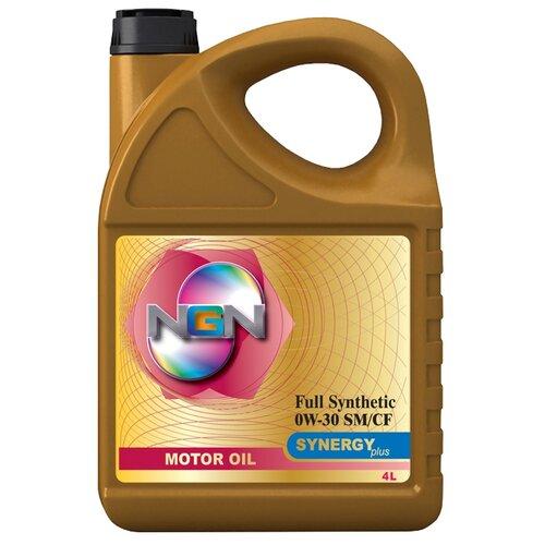 Моторное масло NGN Synergy Plus 0W-30 4 л