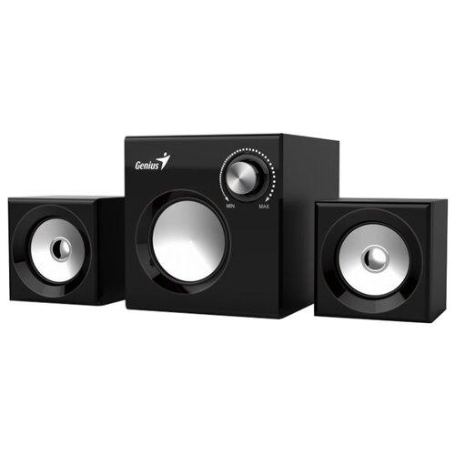 Компьютерная акустика Genius SW-2.1 370 black компьютерная акустика genius sp u120 31731057100