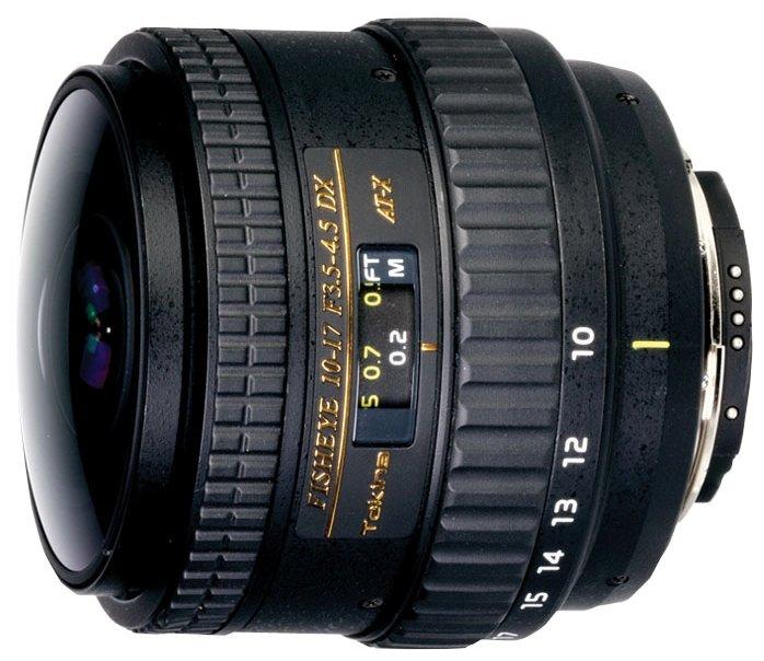 Tokina AT-X 10-17mm f/3.5-4.5 (AT-X 107) AF DX NH Fisheye Nikon F