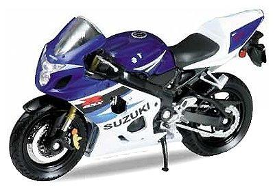 Модель мотоцикла Welly модель мотоцикла 1:18 Suzuki GSX-R750