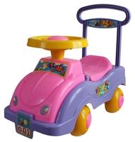 Каталка-толокар Совтехстром Автомобиль для девочек (У447) со звуковыми эффектами