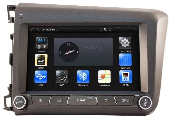 Автомагнитола CA-FI DL4801000-0026 Android 4.1.1 Honda Civic