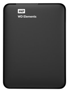 Western Digital Жесткий диск Western Digital WD Elements Portable 1 TB (WDBUZG0010BBK-EESN)