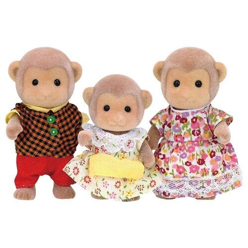 Купить Фигурки Sylvanian Families Семья обезьян 3 фигурки 5214, Игровые наборы и фигурки