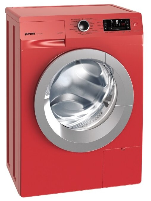Стиральная машина Gorenje W 65Z03R/S красный
