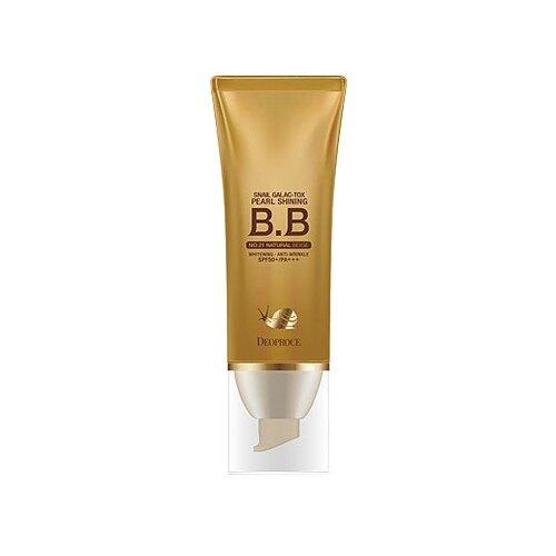 Deoproce Snail Galac-tox BB крем Pearl Shining BB SPF50+ 40 гр 21 natural beigeBB, CC и DD кремы<br>