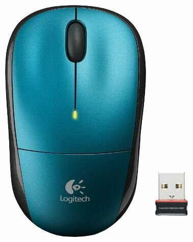 Мышь Logitech Wireless Mouse M215 Blue USB