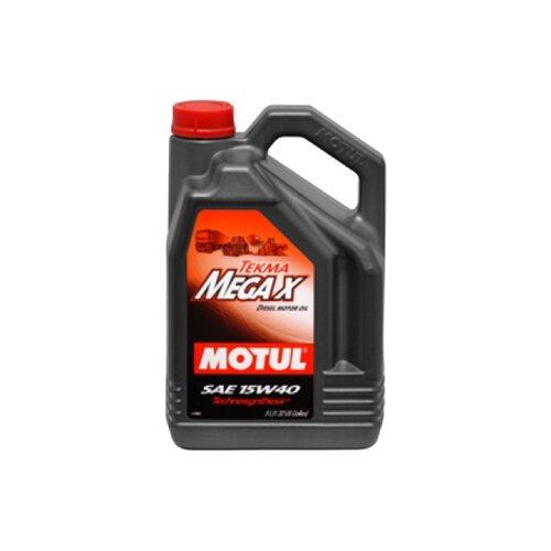 Полусинтетическое моторное масло Motul Tekma Mega X 15W40, 5 л
