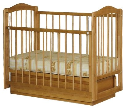 Кроватка Можгинский лесокомбинат Ксюша (с двумя ящиками)