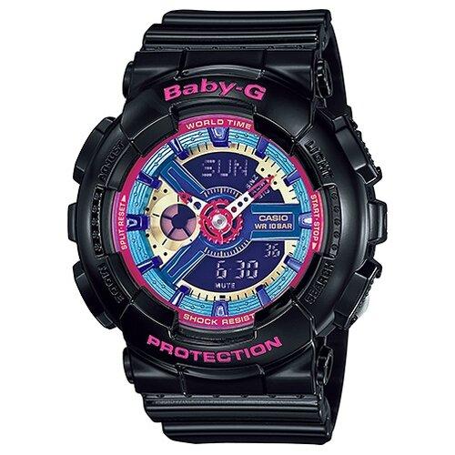 Фото - Наручные часы CASIO BA-112-1A женские часы casio ba 111 1a