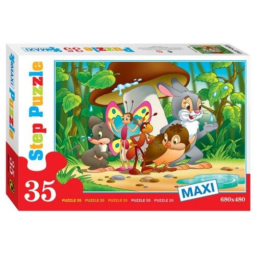 Пазл Step puzzle Под грибом (91302) , элементов: 35 шт.Пазлы<br>