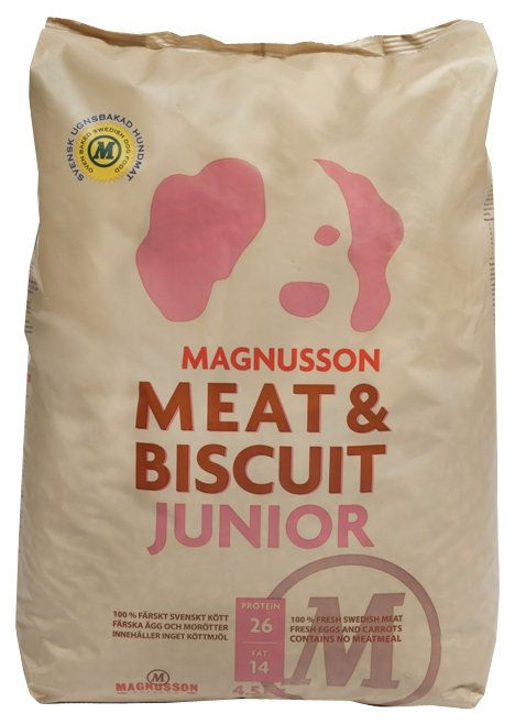 Корм для собак Magnusson Meat & Biscuit Junior