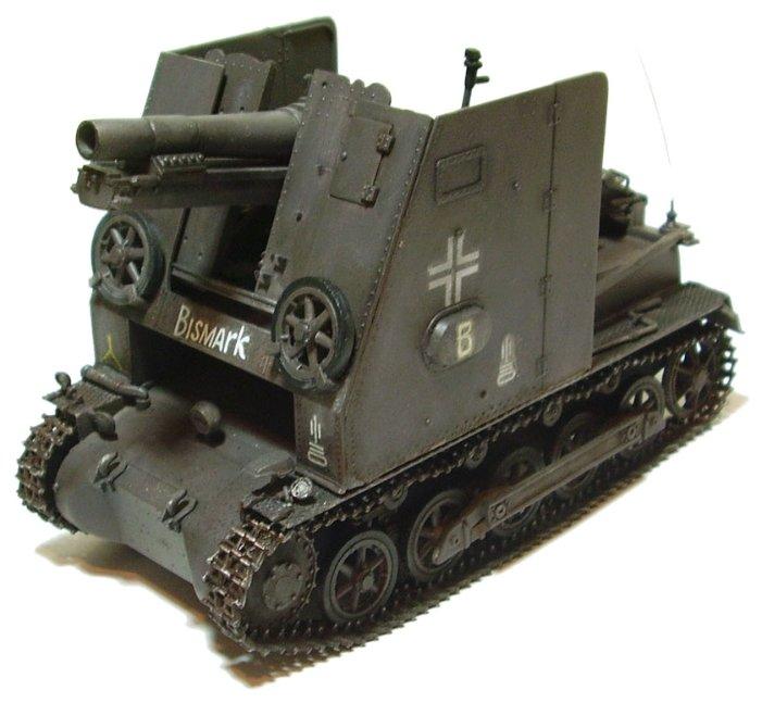 Сборная модель Моделист Немецкое самоходное орудие Штурмпанцер I Бизон (303520) 1:35