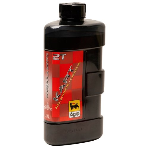 Моторное масло Eni/Agip Kart 2T 1 л масло dde 1l синтетическое red ss 2t для 2 х тактных двигателей