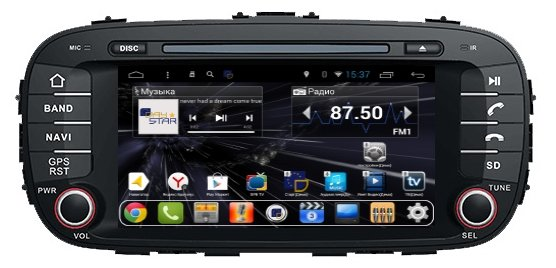 Daystar DS-7002HD KIA Soul 2014+ ANDROID