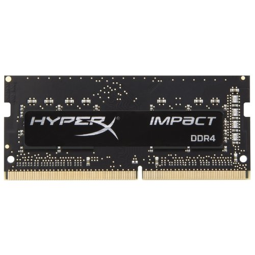 Купить Оперативная память HyperX Impact DDR4 2400 (PC 19200) SODIMM 260 pin, 16 ГБ 1 шт. 1.2 В, CL 14, HX424S14IB/16