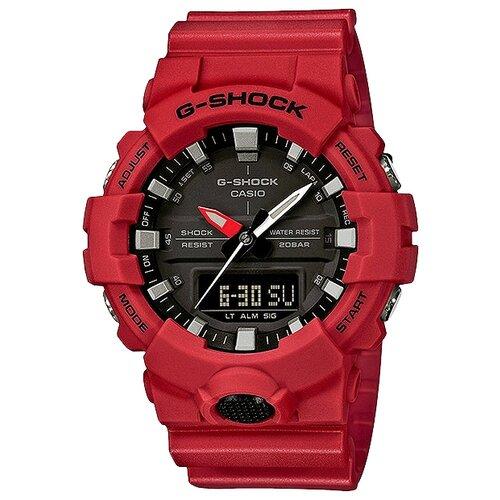 Наручные часы CASIO G-Shock GA-800-4A наручные часы casio ga 800 4a