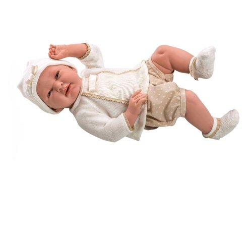 Купить Пупс Arias Elegance в бежевой кофте 52 см Т11124, Куклы и пупсы