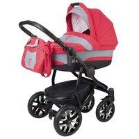 Детская коляска 2 в 1 Esspero Discovery (шасси Black) - Red Lux