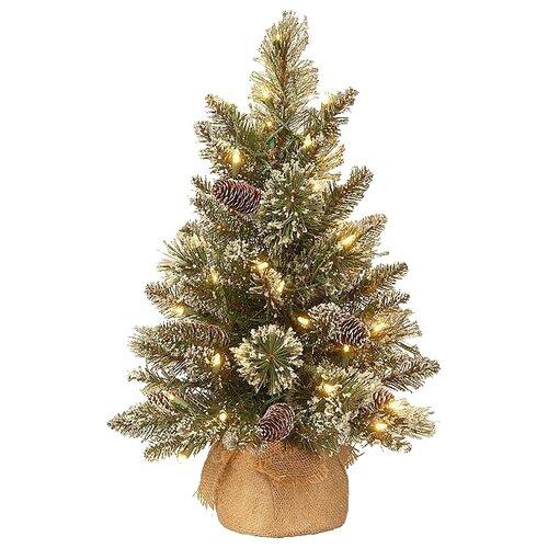 National Tree Company Ель Бристоль с лампочками 0.61, 61 см