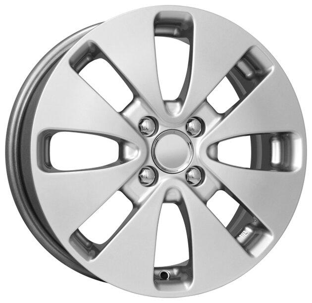 Колесный диск K&K КС582 (15_Rio) 6x15/4x100 D54.1 ET48 Блэк платинум