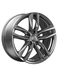 1000 MIGLIA MM1011 7.5x17 5x108 ET45 D63.4 Dark Anthracite High Gloss - фото 1