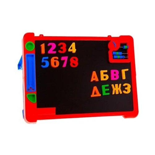 Купить Доска для рисования детская Эра Магнитишка Тип 4 (С-75) красный, Доски и мольберты
