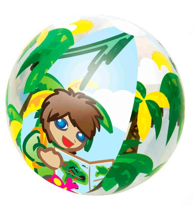 Мяч пляжный Bestway Jungle Trek 31040 BW