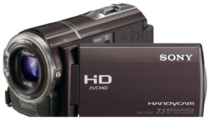 Сравнение с Sony HDR-CX360E