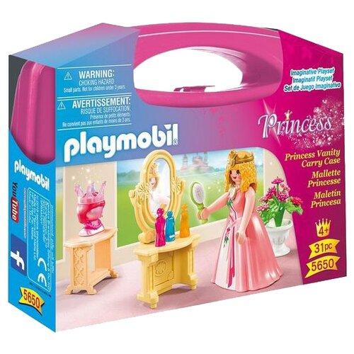 Набор с элементами конструктора Playmobil Princess 5650 Туалетный столик принцессы princess snap