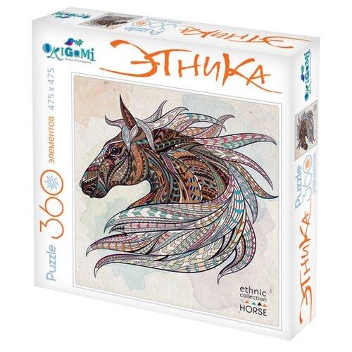 Купить Пазл Origami Арт-терапия Лошадь (02348), 360 дет., Пазлы