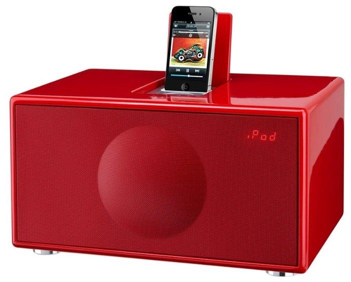 Музыкальный центр Geneva Model M Red