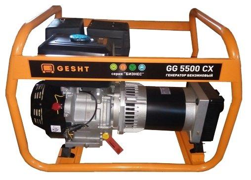 Бензиновый генератор Gesht GG5500CX (5000 Вт)