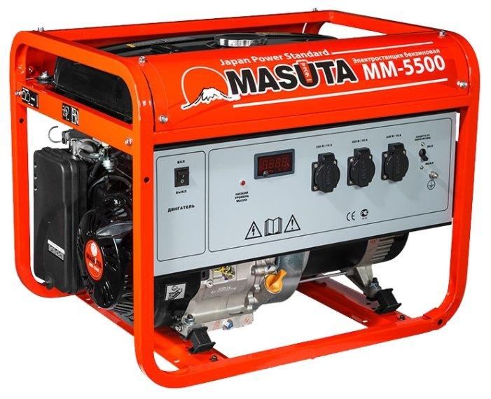 Бензиновая электростанция MASUTA MM-5500