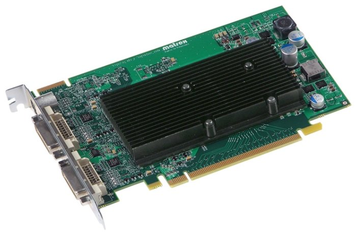 Matrox Видеокарта Matrox M9120 PCI-E 512Mb 128 bit 2xDVI