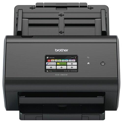Сканер Brother ADS-2800W черный