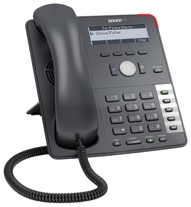 Snom D 715 IP телефон