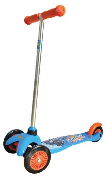 Кикборд 1 TOY Т57616 Hot wheels синий